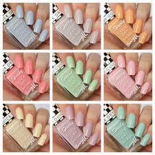 barry m speedy nail paint collection pretty pastels for spring