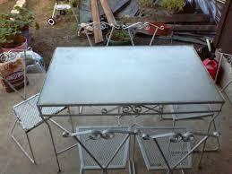 Wrought Iron Patio Furniture Set - antique iron patio furniture