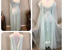 peignoir sets bridal etsy