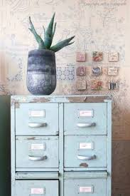 Teal File Cabinet How To Transform A Metal File Cabinet From Modern To Farmhouse
