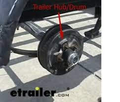 parts needed to add electric drum brakes to a trailer etrailer com