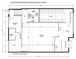 floorplan cresrc u2013 canadian rockies earth science resource centre