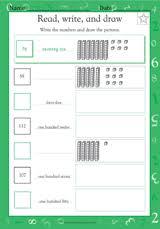 tens and ones ii math practice worksheet grade 1 teachervision