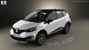new renault captur 2017 360 view of renault captur 2017 3d model hum3d store