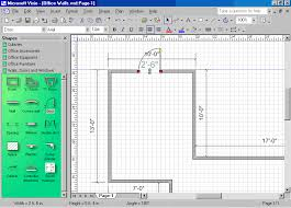 Home Floor Plan Visio Stencil Sample Chapter From Microsoft Visio Version 2002 Step By Step