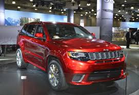 jeep trackhawk back super villain 707 hp jeep grand cherokee trackhawk