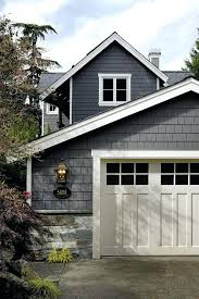 view gallerygarage door colors for white house garage with red