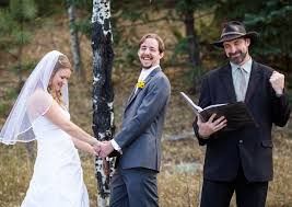 wedding officiator officiating services blue sky elopements