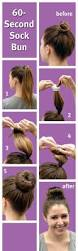 best 20 sock bun hairstyles ideas on pinterest u2014no signup required