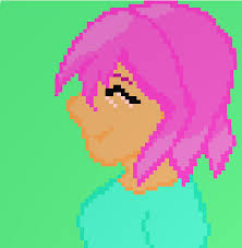 is there pink hair in roblox anime me on roblox with pink hair by perseidgalaxy on deviantart