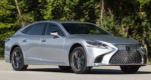 lexus ls 2018 lexus ls 500 reborn with more tech and flash consumer reports