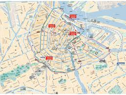 where is amsterdam on a map hop on hop amsterdam canal cruises