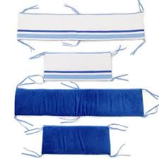 simplicity blue crib bumper rail cover free shipping today