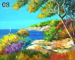 2018 seascape painting painting canvas landscape picture