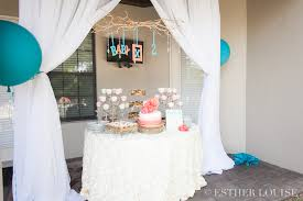 coral baby shower baby shower ta sarasota wedding florist event design