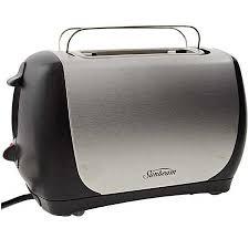 Sunbeam 2 Slice Toaster Sunbeam Quantum 2 2 Slice Toaster Ta3220b Big W
