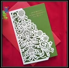 christmas cards sale greeting card beautiful die cut paper christmas cards hot sale