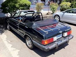 renault alliance convertible old parked cars 1983 subaru gl10 convertible by matrix