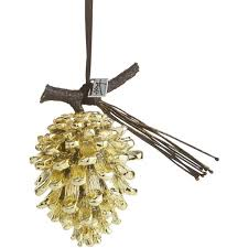 michael aram gold tone pine cone ornament 60 liked on