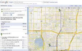 Printable Driving Directions | printable directions google maps usa map driving directions correct