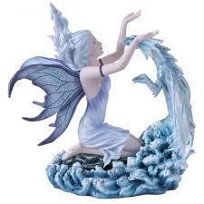 fairy with dragon statue 10 inch fantasy dragon statue