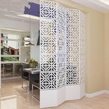 room partition designs 6pcs lot 29 29cm room divider screen partition modern biombo folding