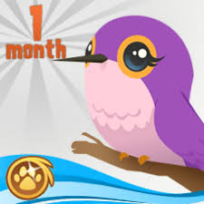 animaljam gift card 1 month membership gift certificate hummingbird pet pack