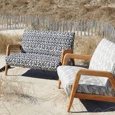 Atwoods Outdoor Furniture - sashiko wave fabric in charcoal black u2013 rebecca atwood designs