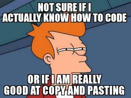 Meme Copy And Paste - 5 types of programmers that you will ever encounter