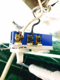 electrical combination box switch two wires only home