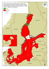 Baltic Sea Map Latest Assessment Of Status Helcom
