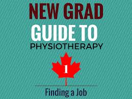 physiotherapy resume format new grad guide to physiotherapy 1 finding a job layman s physio finding a job