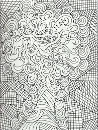 coloring pages for adults tree adult coloring pages dr odd
