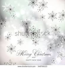 Christmas And New Year Christmas Decorations Snowflakes Vector by Merry Christmas Happy Holidays Happy New Stock Vector 533983105