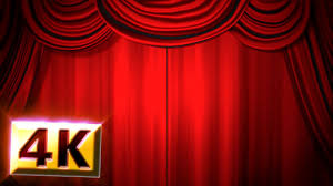 Theater Drape Free Stock Footage 4k Red Stage Curtain U0026 Drapes Animation