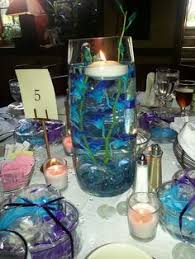 floating tea lights walmart michaels floating candle centerpiece idea mirror underneath led