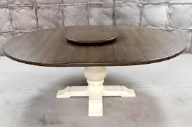 furniture remarkable reclaimed wood round dining table with