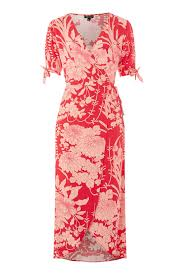 topshop dress floral wrap dress topshop usa