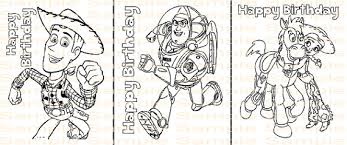 toy story birthday coloring printable toy story party