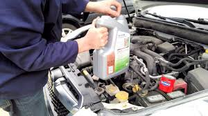 2009 2014 subaru legacy and outback oil change youtube