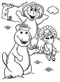 barney friends coloring pages 28 images free printable