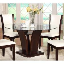 glass top dining room set white round glass top dining table u2014 rs floral design beauty