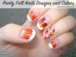 45 pretty fall nails designs and colors for 2016