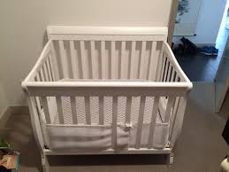 white dream on me 4 in 1 aden convertible mini crib victoria city