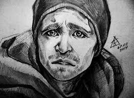 sketch breaking bad jesse pinkman on behance