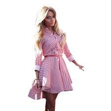 aliexpress com buy dress fashion summer shirt dress women cotton