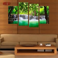 Artwork For Home Decor Spray Painting Picture More Detailed Picture About 4 Piece