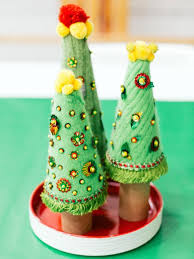 how to make sweater tree decorations hgtv