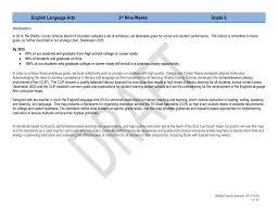 english language arts 3 rd nine weeks grade 6