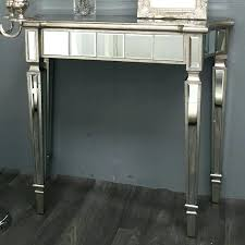 wood and mirrored console table mirrored console table cheap console tables mirrored modern mirrored